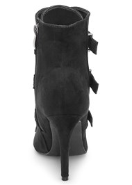 Back View Buckle Detail Booties