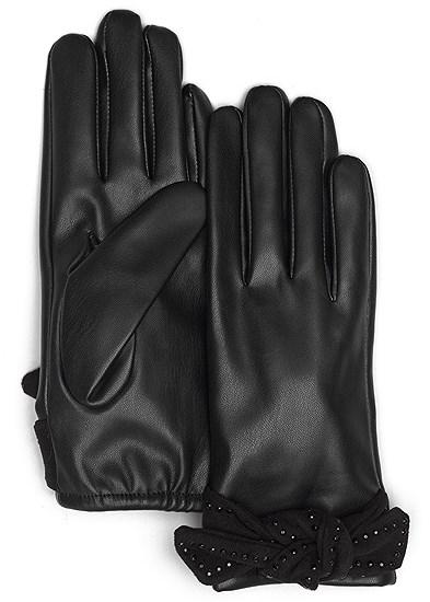 Bow Detail Gloves