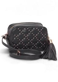 Front View Stud Detail Crossbody