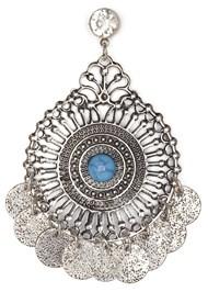 Detail  view Medallion Earrings