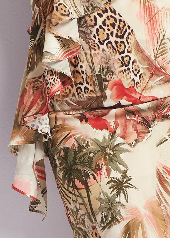 Alternate View Animal Print Dress