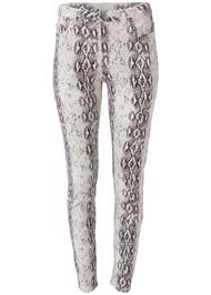 Alternate View Python Print Skinny Jeans