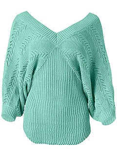 plus size dolman sleeve sweater