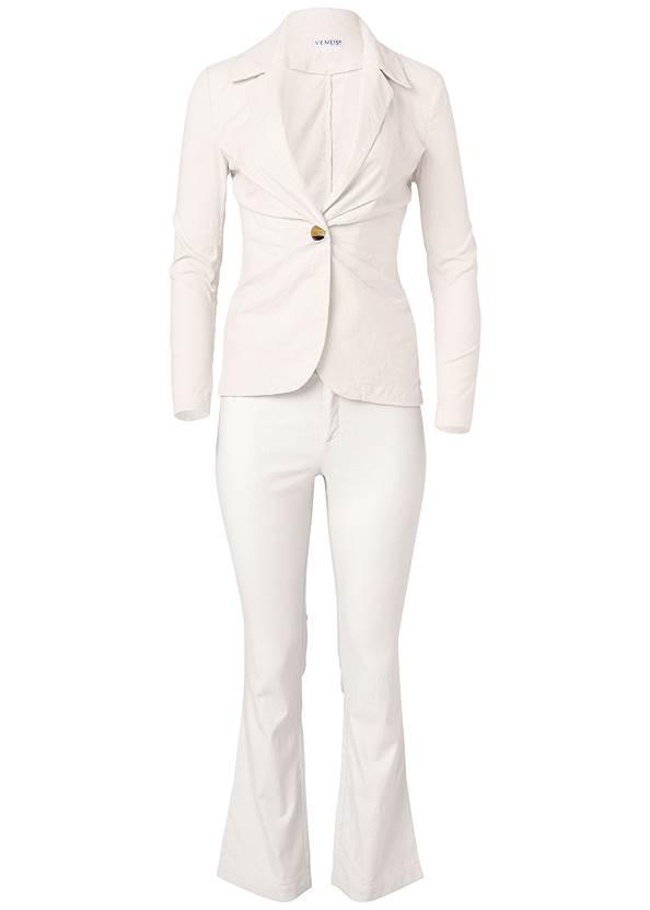 Ghost  view Linen Suit Set
