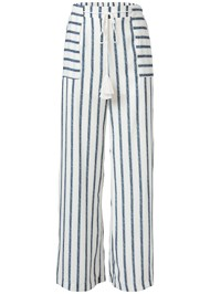 Ghost  view Navy Striped Pants