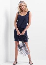 Full front view Casual Tank Dress