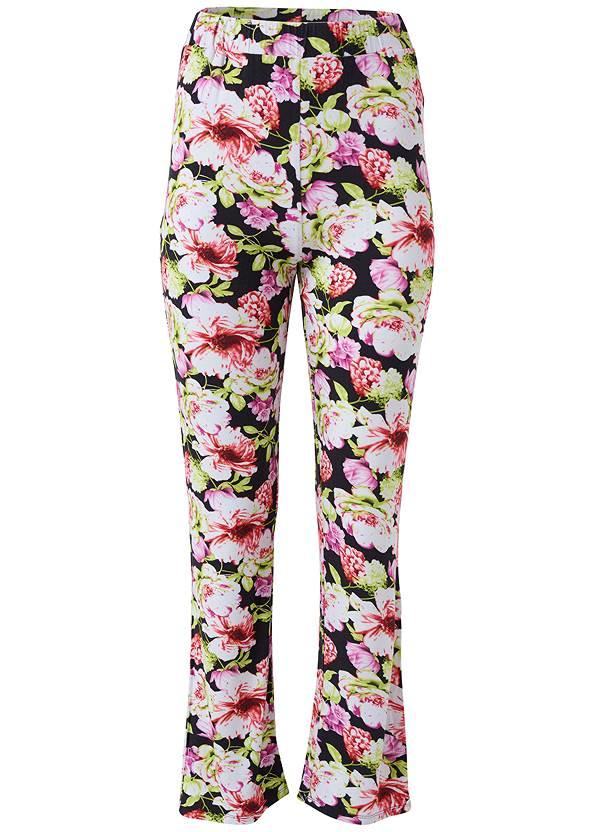 Alternate View Floral Print Sleep Pant Set