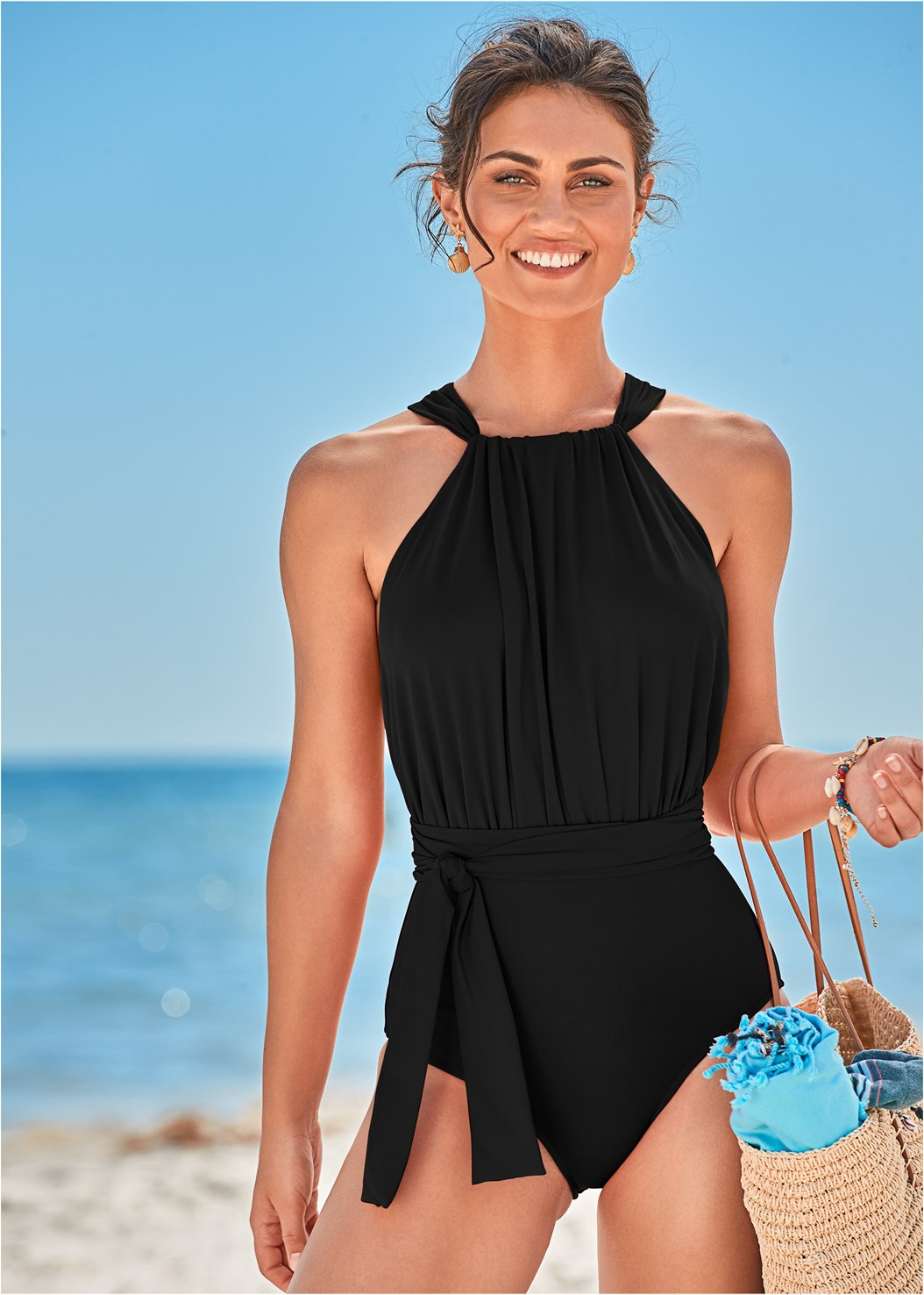 Heather One-Piece,Roman Cover-Up Beach Dress