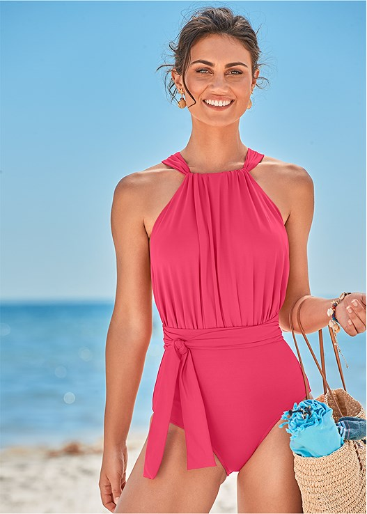 HEATHER ONE-PIECE,CROCHET MAXI DRESS COVER-UP