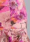 Detail back view Floral Lace Ruffle Dress