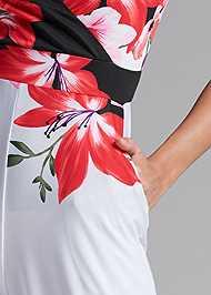 Alternate View Floral Print Jumpsuit