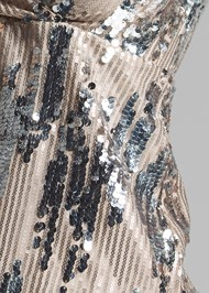 Detail front view Sequin Detail Top