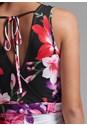 Detail back view Floral Jumpsuit