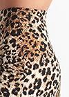 Detail side view Leopard Print Maxi Skirt
