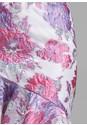 Detail front view Floral One Shoulder Dress