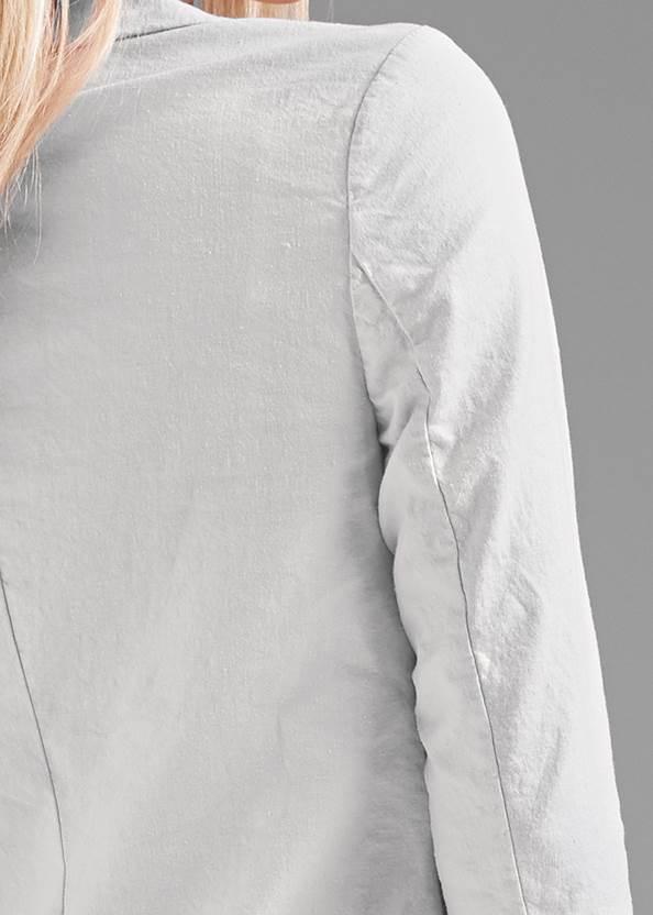 Detail back view Linen Suit Set