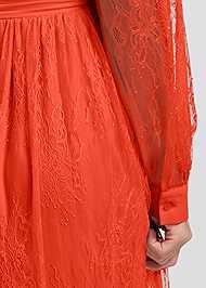 Alternate View Lace Shirt Dress