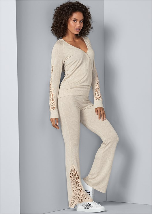 CROCHET DETAIL LOUNGE SET,PUSH UP BRA BUY 2 FOR $40,EMBELLISHED SNEAKER