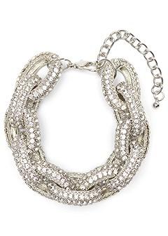 embellished chain bracelet