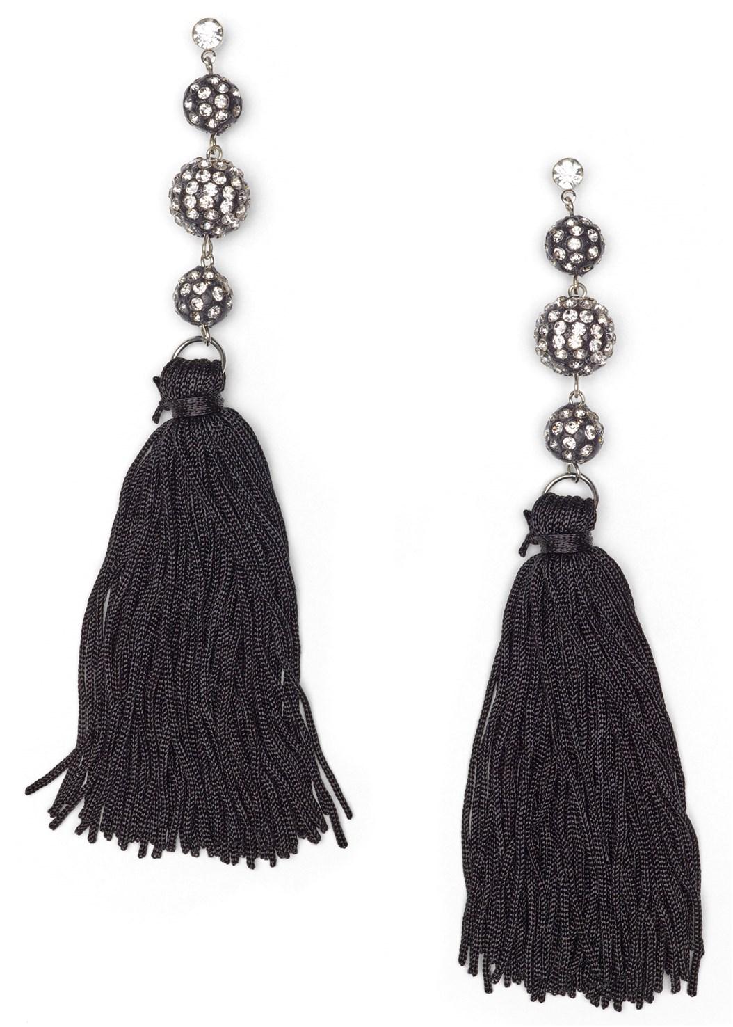 Jewel Fringe Earrings