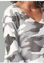 Alternate View Camo Print Sweater