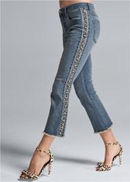 Alternate View Tweed Stripe Jeans