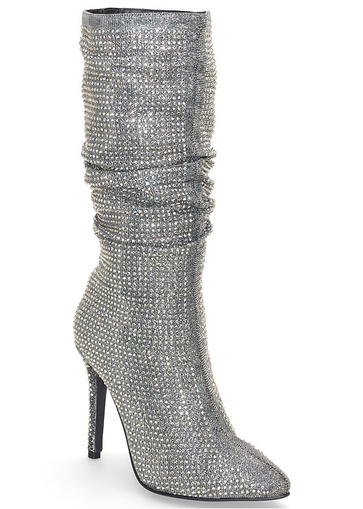 EMBELLISHED SLOUCH BOOT