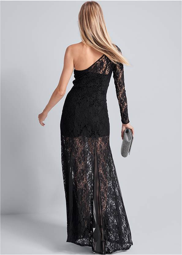 Back View Lace Gown