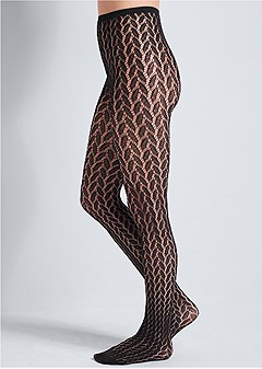 textured tights