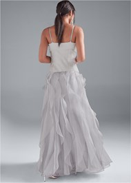 Back View Embellished Gown