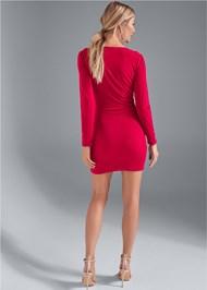 Alternate View Strappy Bodycon Dress