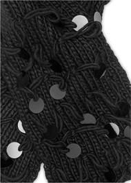 Alternate View Paillette Detail Scarf