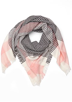 multi print scarf