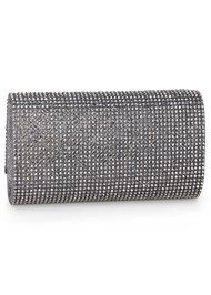 Back View Rhinestone Clutch