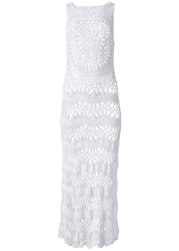 Alternate View Crochet Maxi Dress Cover-Up