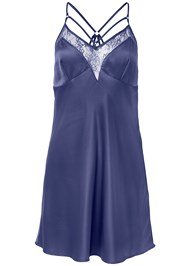 Ghost with background  view Satin Lace Chemise