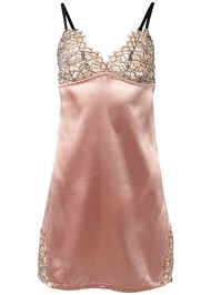 Ghost with background  view Lace Detail Satin Chemise