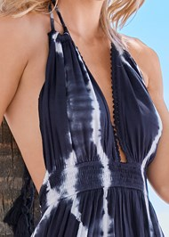 Alternate View Tie Dye Cover-Up Jumpsuit