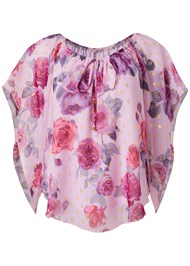 Alternate View Off The Shoulder Floral Top