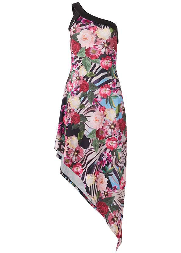 Alternate View Tropical Print Dress