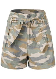 Alternate View Belted Camo Shorts