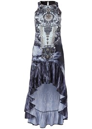 Alternate View Paisley High Low Dress