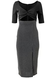 Alternate View V-Neck Cut Out Dress