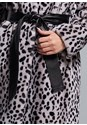 Alternate View Faux Fur Animal Print Coat