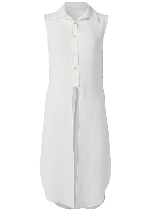 Alternate View Side Lace Up Maxi Top