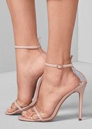 Alternate View Lucite Detail Heels