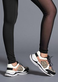 Alternate View Animal Print Sneakers