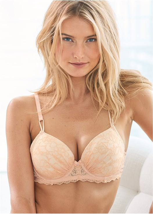 LIGHTLY PADDED LACE BRA