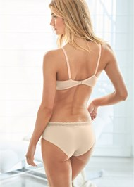 Back View Lightly Padded Lace Bra