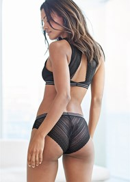 Back View Lace Back Comfort Bra